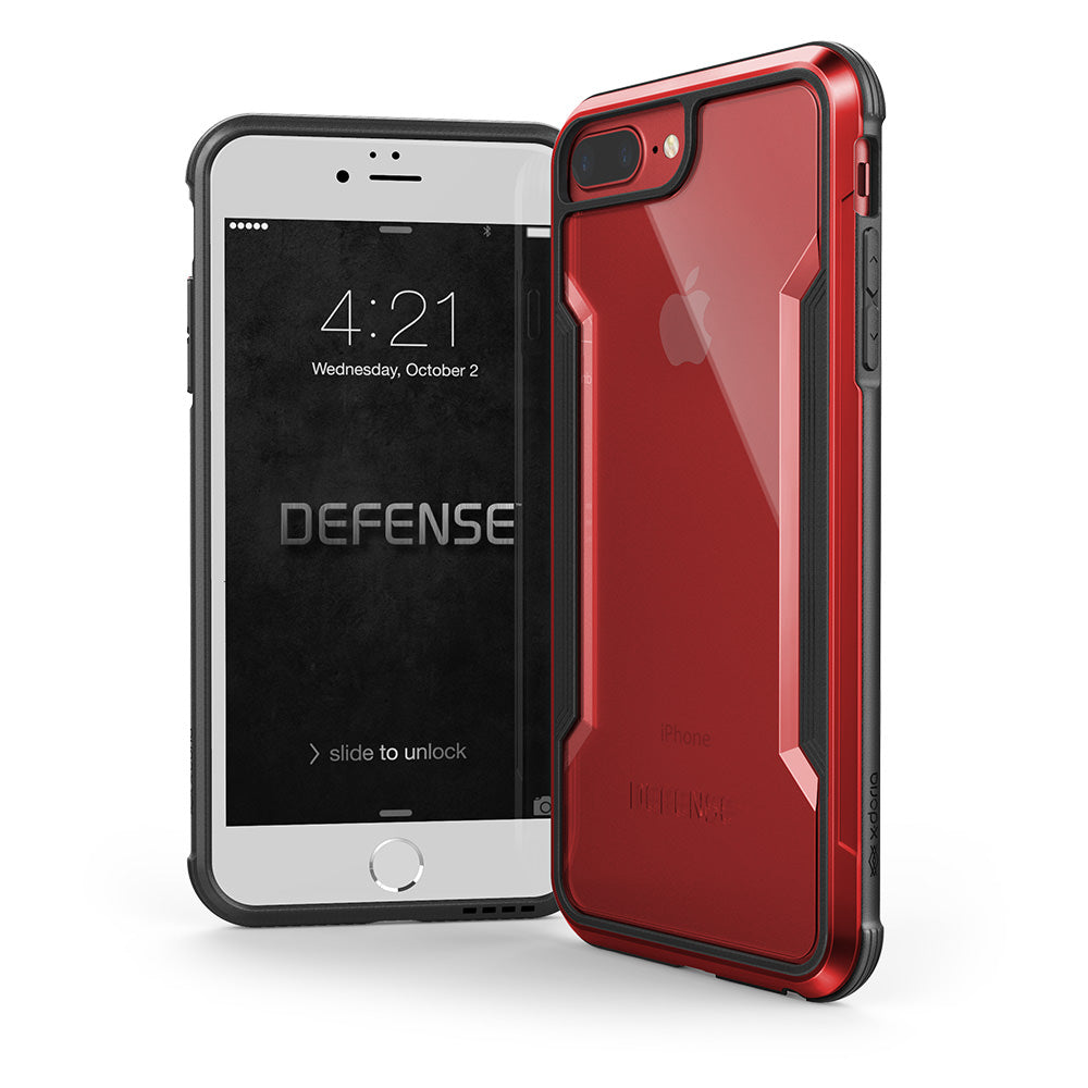 Capa para iphone 7/8 Plus Original X-Doria Defense Shield Vermelho