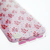 Capa Para iPhone 7/8/6/6S Plus Original Feminina Personalizada Red Leaves Casestudi