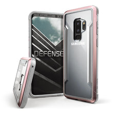 Capa para Galaxy S9 Plus X-Doria Original Defense Shield Rosa