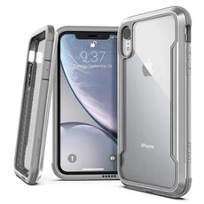 Capa para iPhone Xr Defense Shield X-Doria Original Prata