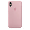 Capa para iPhone X Silicon Case Rose