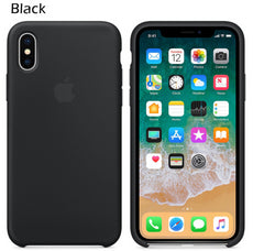 Capa iPhone Xs Silicone Apple Tela 5.8'
