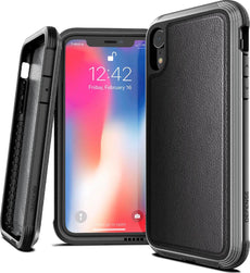 Capa para iPhone Xr Defense Lux Couro X-Doria Original