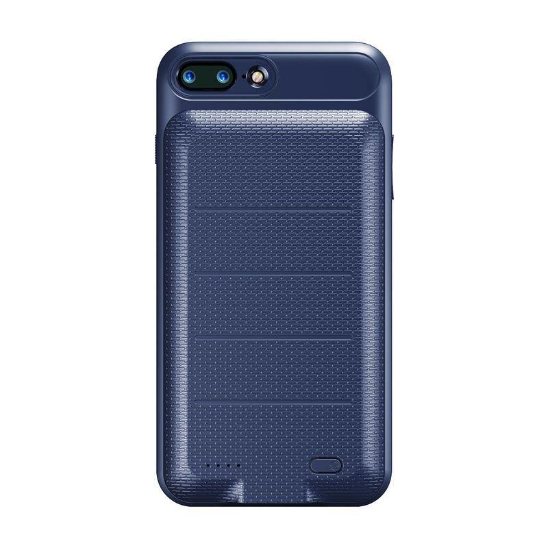 Capa Carregadora Iphone 7 Plus Iphone 8 Plus 3.650mah Baseus Azul