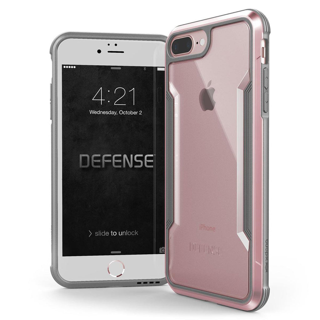 Capa Para Iphone 7 Plus Iphone 8 Plus Original X-Doria Defense Shield Rosa