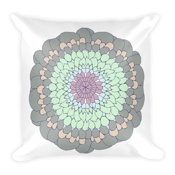 Square Mandala Pillow