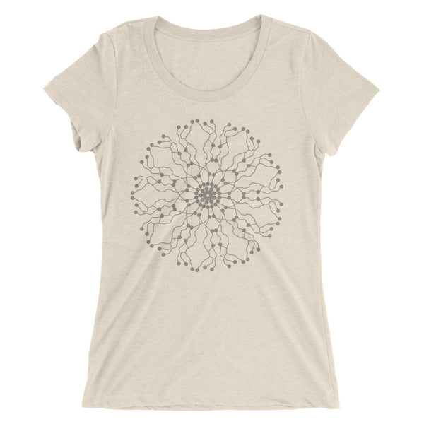 Longevity Mandala Wheel T-Shirt