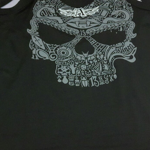 Image of Grey Skull Tank Top