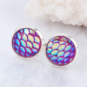 Mermaid Scale Earrings