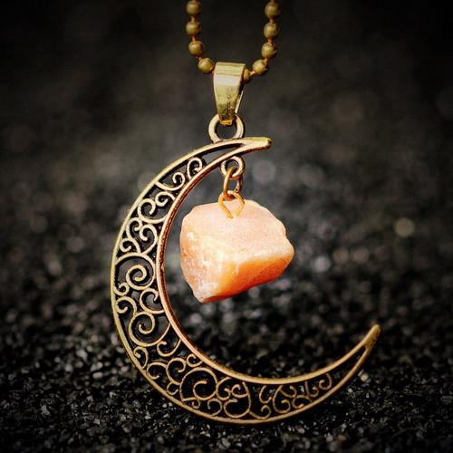 Moon Crystal Necklace
