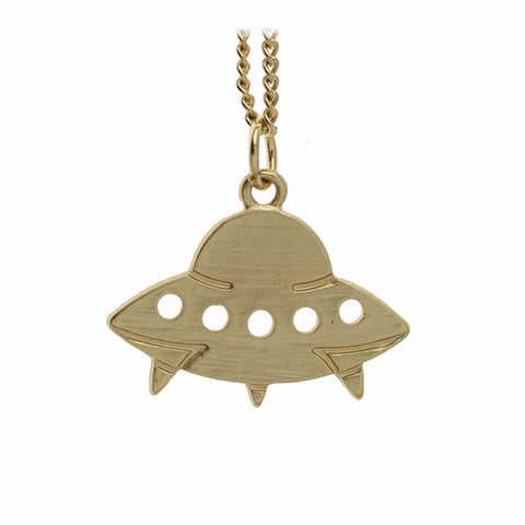 Image of UFO Pendant Necklace