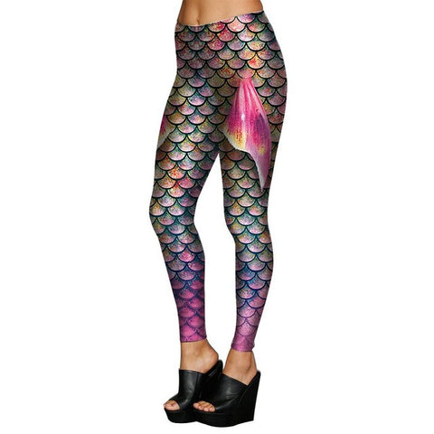 Image of Mermaid Scale Leggings