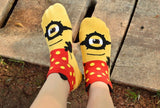 Minion Low Cut Socks