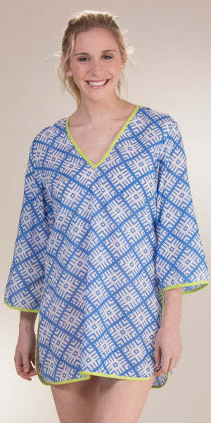 Peppermint Bay Tete-A-Tete Cotton Beach Cover Up