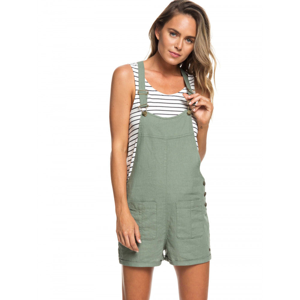 Roxy Compass Direction Overalls