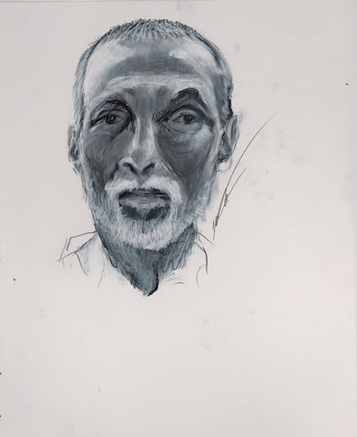 Old Man Self-Portrait, 2015