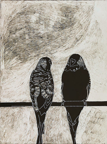 Untitled (two birds)