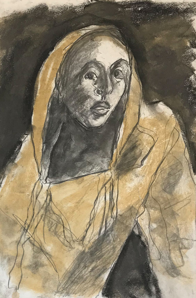 44. Untitled (woman in hood)