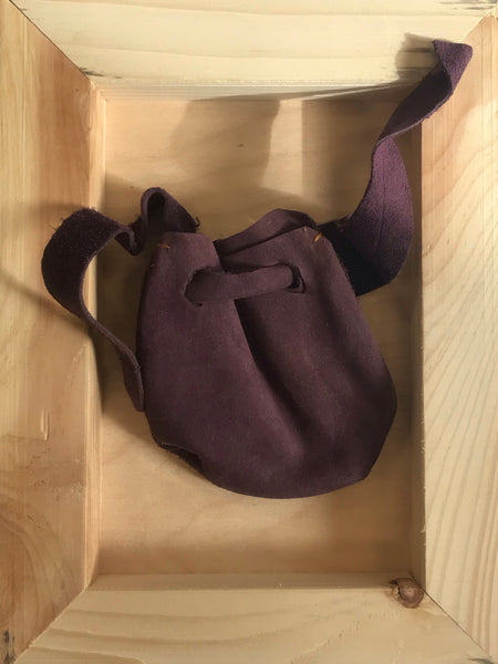 Medicine bag (eggplant color)