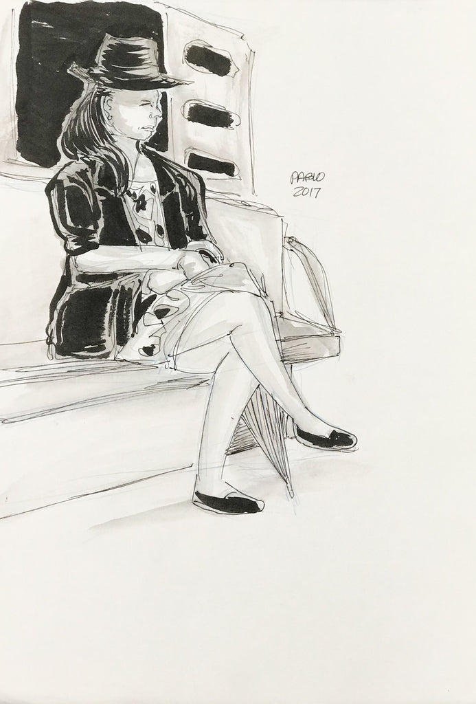 Beautiful on the Subway, 2017