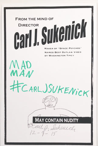 From The Mind of Carl J. Sukenick (Mad Man #CARLJSUKENICK)