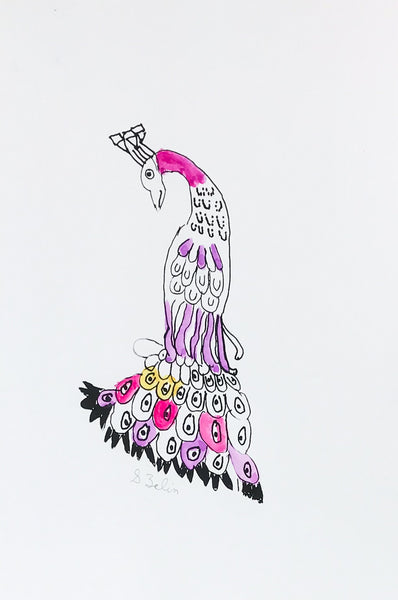 Untitled (peacock)
