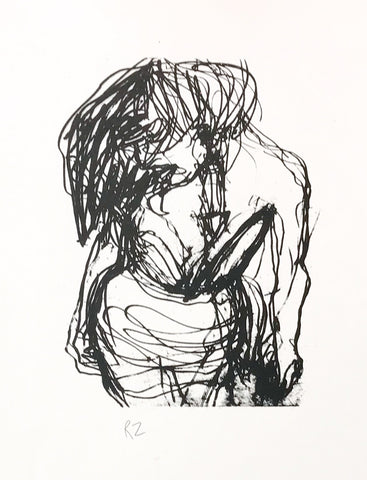 8b. Untitled (print of woman)