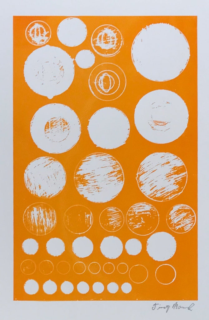 Untitled (circles orange)
