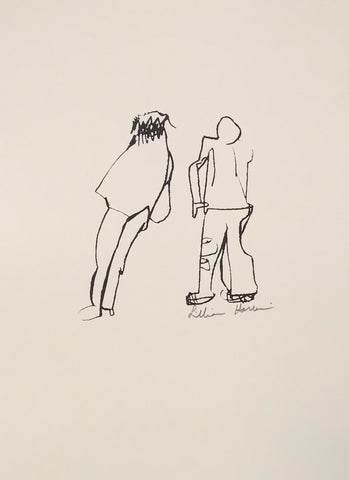 Untitled (walking figures)