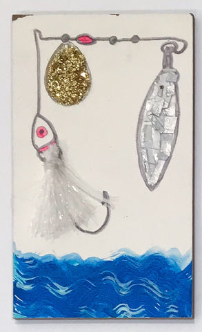 Untitled (fishing lures)