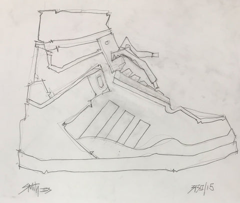 Untitled (sneaker series)