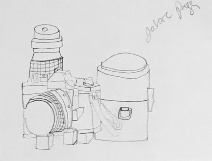 Untitled (camera still life)