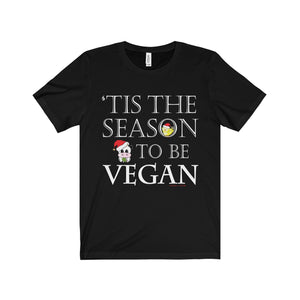 Holiday Vegan Unisex Jersey Short Sleeve Tee