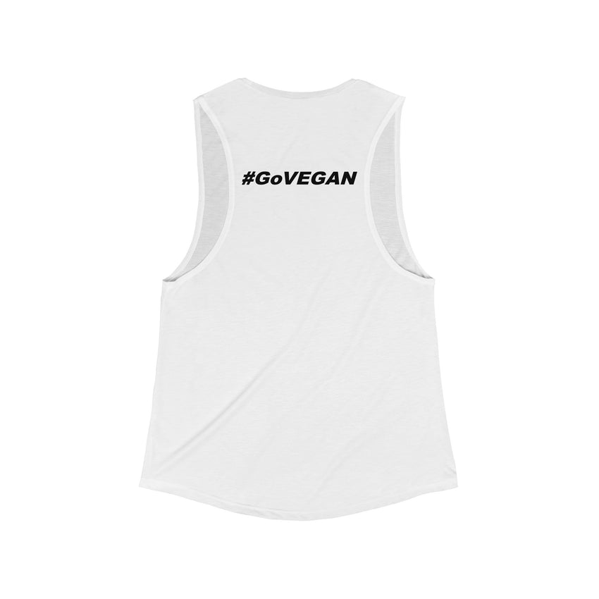 TOFU Tonight Flowy Scoop Muscle Tank