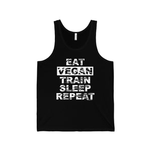 Eat Vegan Sleep Repeat Unisex Tank