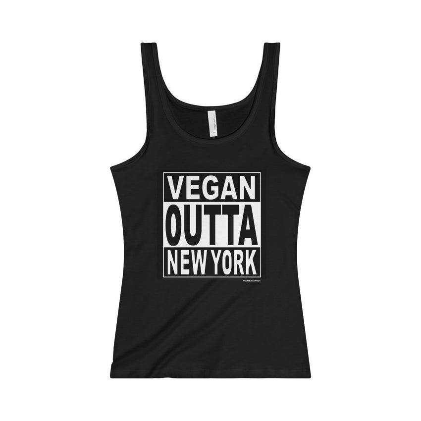 Vegan Straight Outta NY Women's Tank