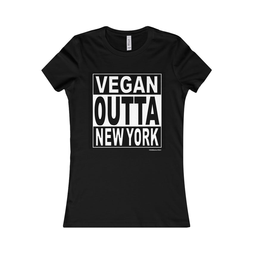 Vegan Straight Outta NY Women's Tee