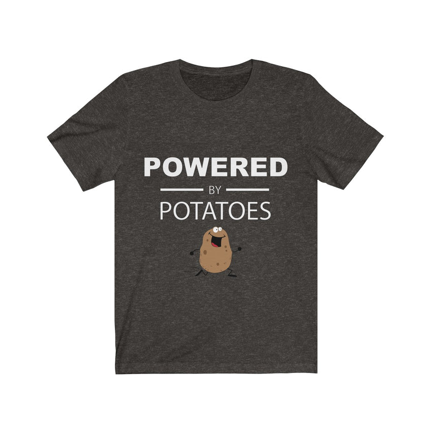 Powered by Potatoes Unisex Tee