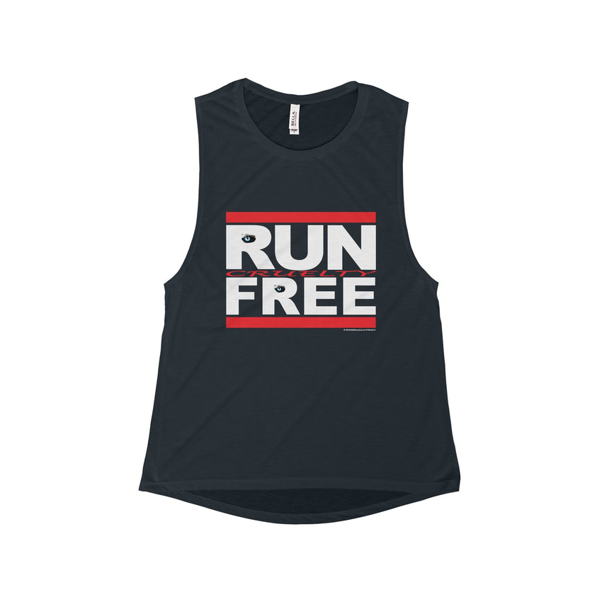 Run Cruelty-Free Flowy Scoop Muscle Tank