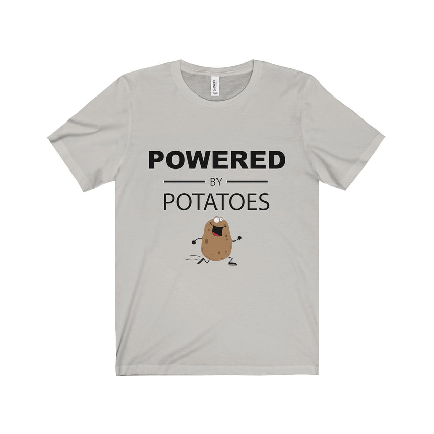 Powered By Potatoes Unisex Jersey Tee