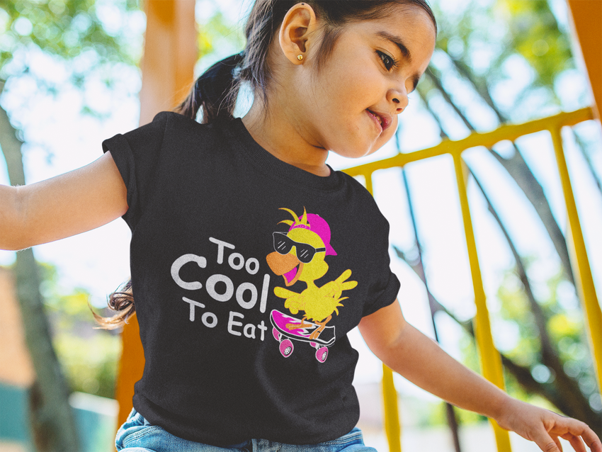 Cool Chick Toddler Tee