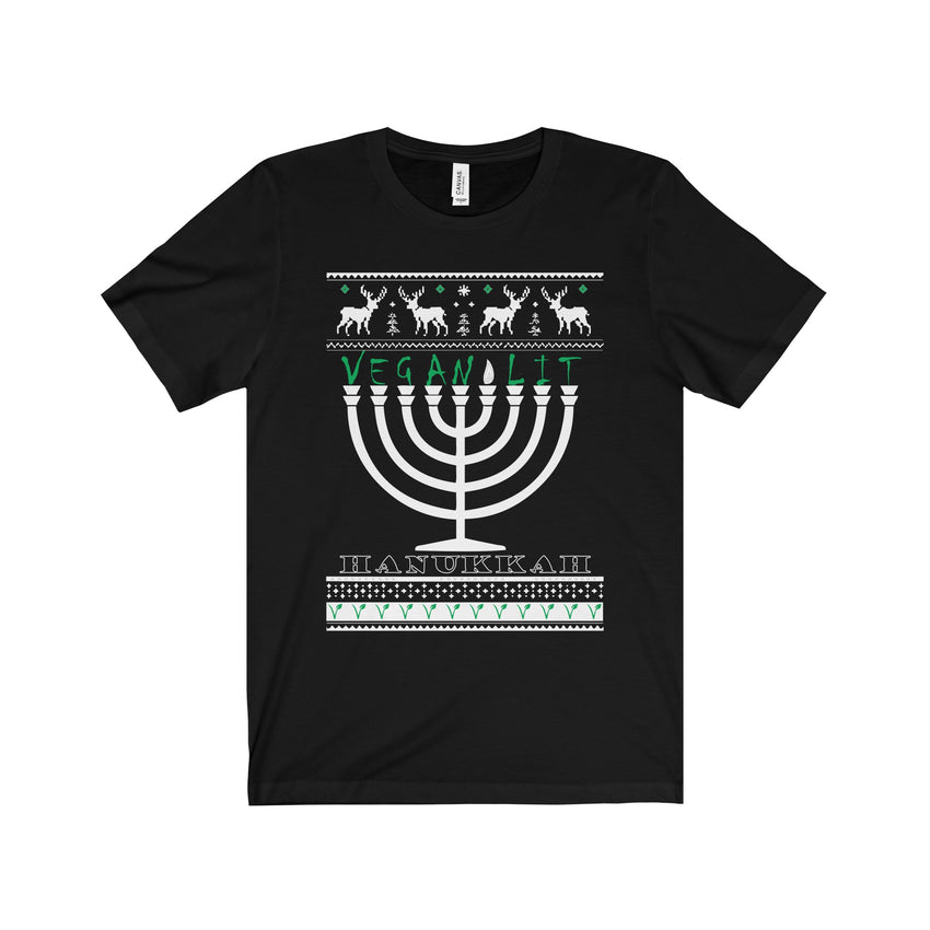Vegan Lit Holiday Unisex Short Sleeve Tee