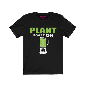 Plant Powered Unisex Tee