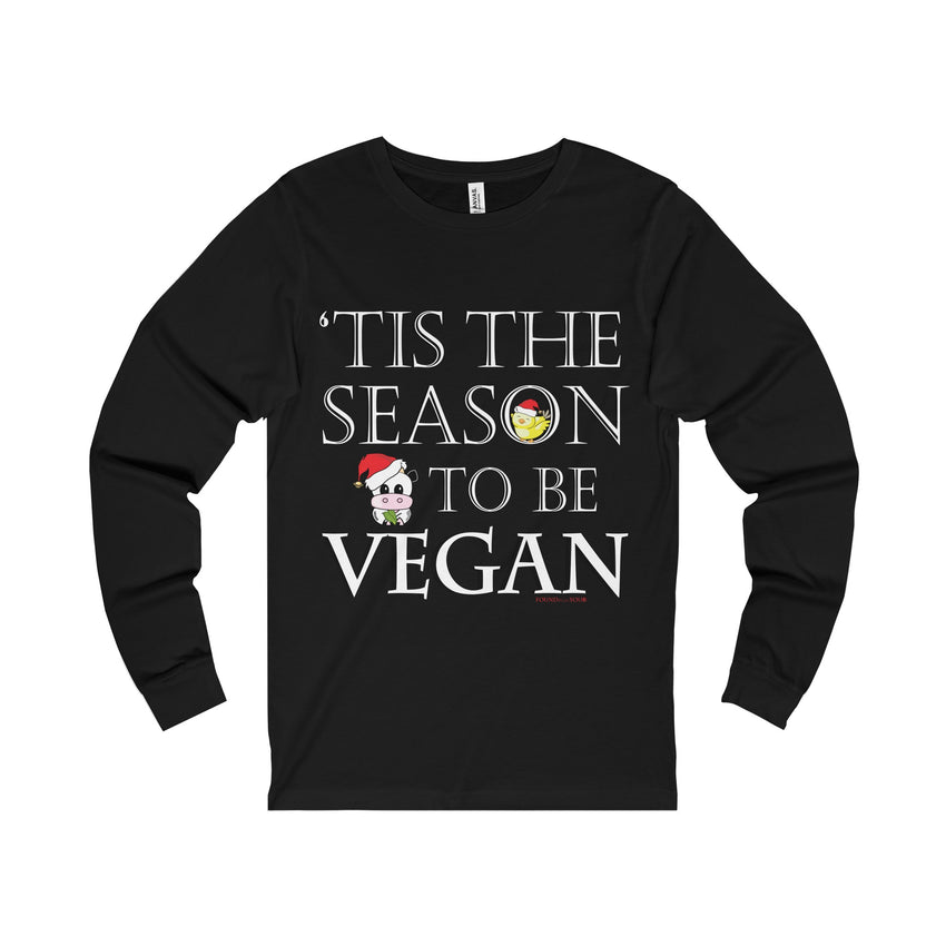 Holiday Vegan Unisex Long Sleeve Tee