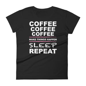 Coffee X3 short sleeve t-shirt