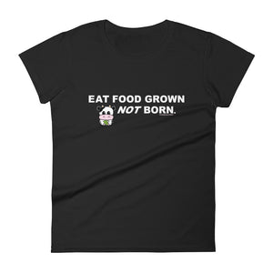 Eat Food Grown Short Sleeve Tee