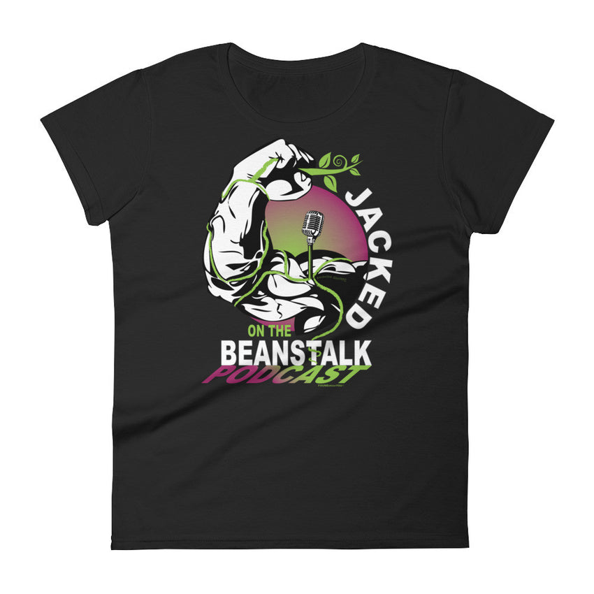 Jacked On The Beanstalk's short sleeve t-shirt