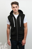 JOTB Men's Sleeveless Gym Hoodie
