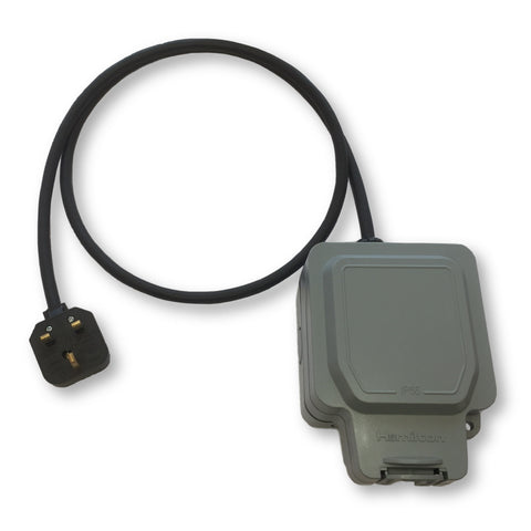 13A extension lead BMW, Nissan & Jaguar compatible (RCD options)