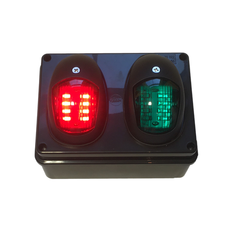 COVID19 shop retail footfall capacity remote control surface or A frame mounted traffic light system